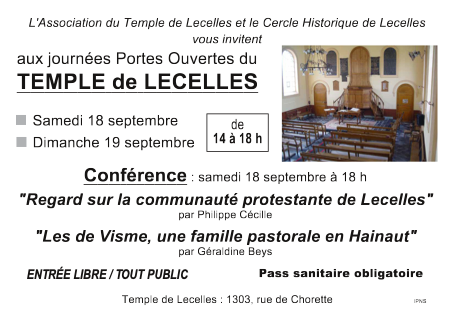 CONDERENCE 18 SEPTEMBRE 2021