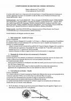 Compte rendu Conseil municipal 27/04/2021