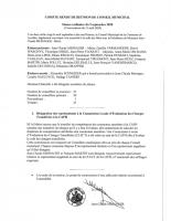 Conseil municipal 09/09/2020