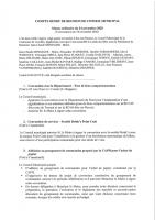 Conseil municipal 24/11/2020