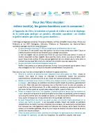 Consignes Covid Communication Henri-Jean LISSE médecin Coordinateur Commission santé
